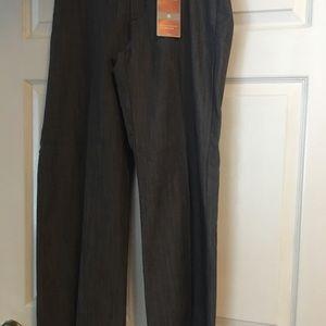 Lee platinum label lt gray slacks